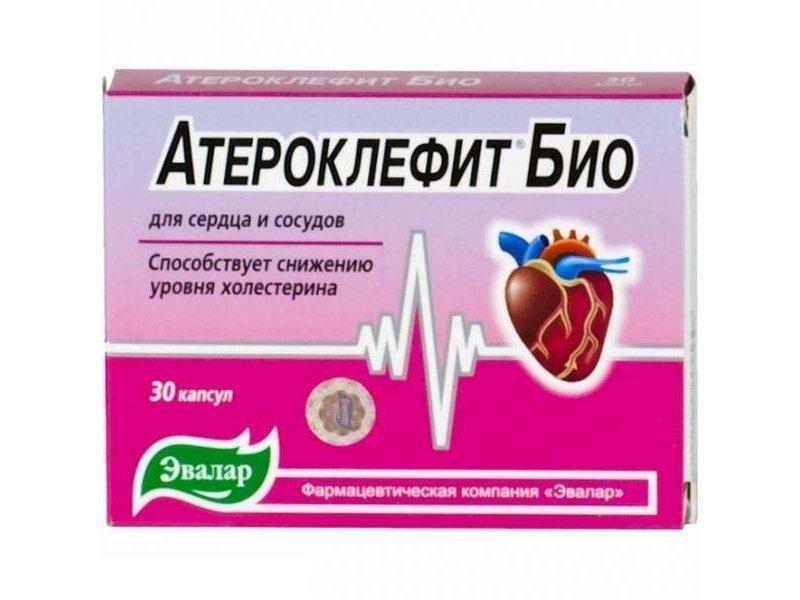 Атероклефит  Био, Эвалар, 30 капс.