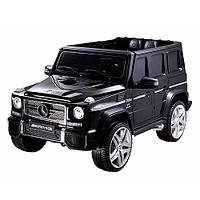 Электромобиль детский Mercedes-Benz G65 AMG черный