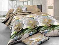 Евро постельное белье Бязь Ranforse (100% хлопок) - Весенный рассвет