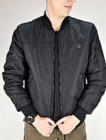 Куртка демисезонная пилот черная, фото 1