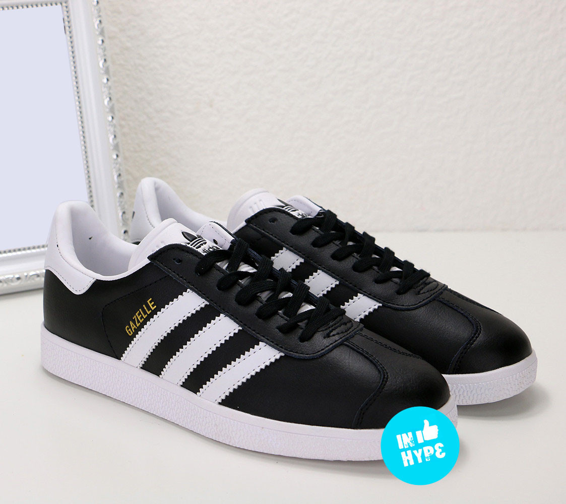 Кроссовки-кеды мужские Adidas Gazelle Black | Адидас Газель мужские черные
