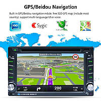 Автомагнитола 2 DIN Tian-Su 6002b ANDROID 7,1 (GPS,USB, DVD) НОВИНКА 2019