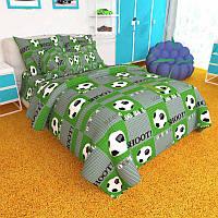 Детское постельное белье Бязь Ranforse - Мяч на зеленом поле