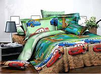 Детское постельное белье Бязь Ranforse - Веселый маквин (ranforse)
