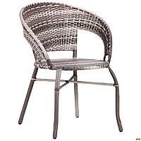Кресло Catalina ротанг серый TM AMF