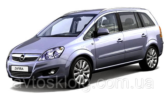 Стекло лобовое, заднее, боковые для Opel Zafira B (Минивен) (2005-2011)