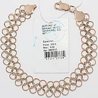 Золотой браслет 30076-П