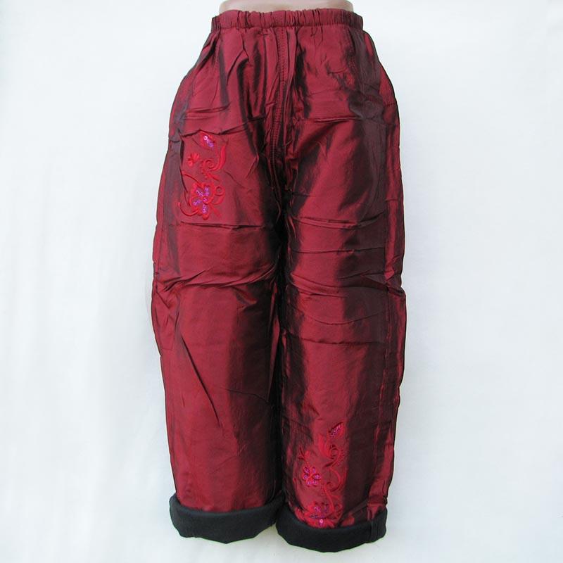 Детские штаны на флисе зимние