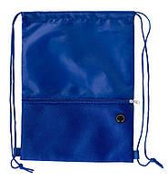 Рюкзак на зав'язках з передньою кишенею на блискавці