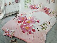 Двуспальное постельное белье Бязь Сатин 5D - Алтея