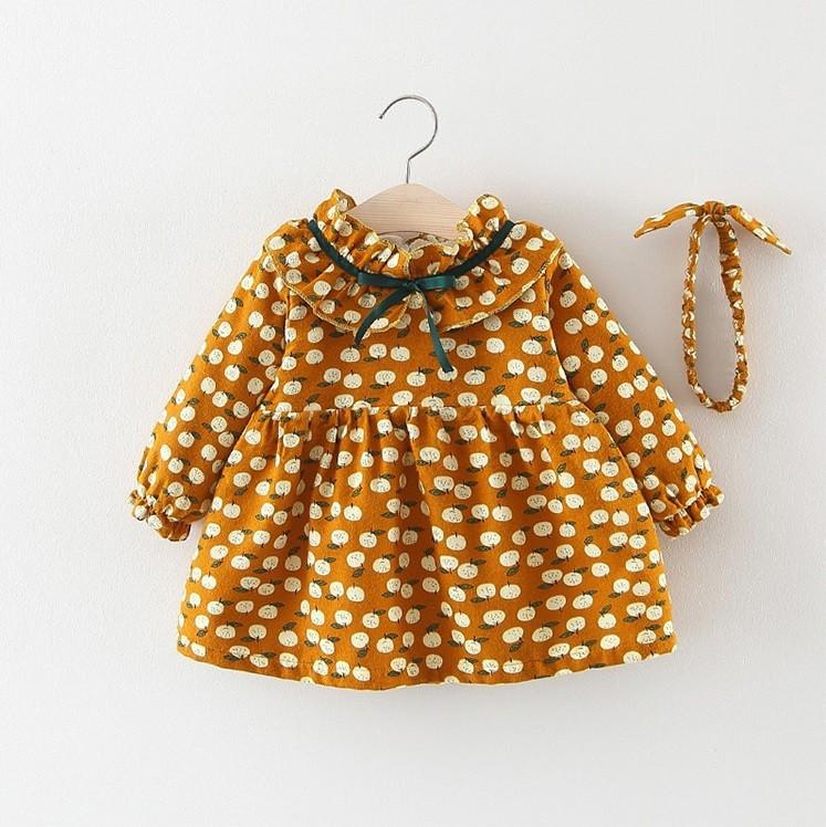 754e446fe3c7c Милое детское платье утепленное плюшем : 104см-110см,92см,98см 204 ...