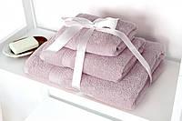 Махровое полотенце Отель 40х70 пудра