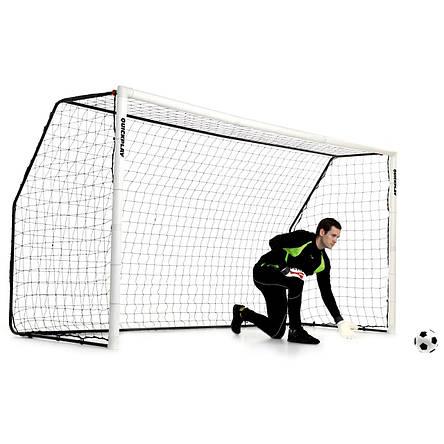 Футбольные ворота (жесткие) QUICKPLAY MATCH FOLD - 3,7 х 1,8 м., фото 2