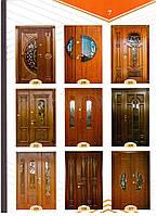 МДФ Накладки на нестандартні  двері