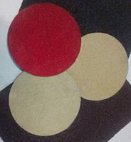 Фетровый липучка круг 125 мм х 6 мм полировальный