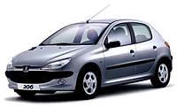 Стекло лобовое, заднее, боковые для Peugeot 206 (Хетчбек, Седан, Комби) (1998-2010), фото 1