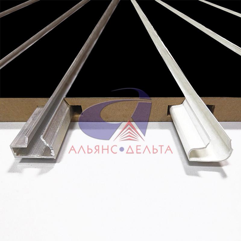Вставка ПВХ и алюминиевые для экономпанели и экспопанели