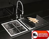 Кухонная мойка Alveus Quadrix 20 F/S сатин 39*45