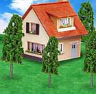 Деревья набор 12 шт, размер 2,5-16 см, для диорам, подставок, миниатюр, детского творчества, фото 4