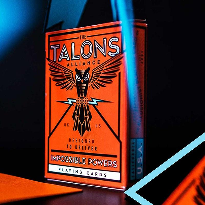 Карты игральные   Talons Playing Cards by Ellusionist