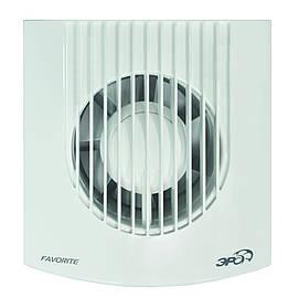 Вентилятор осевой, вытяжной, FAVORITE 4, D 100мм обратный клапан Эра (60-654) шт.