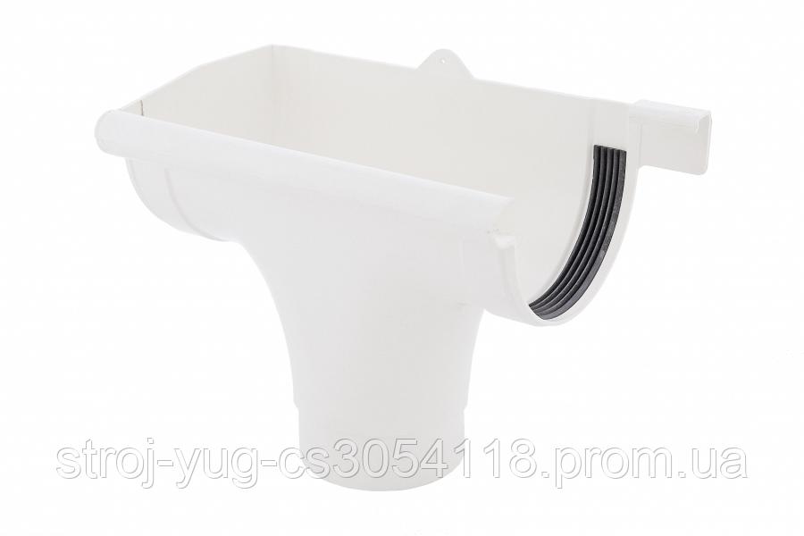 Лійка Profil ліва L 130 біла