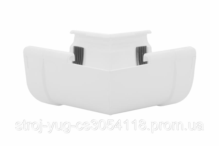 Кут Profil внутрішній 130 білий W 135°
