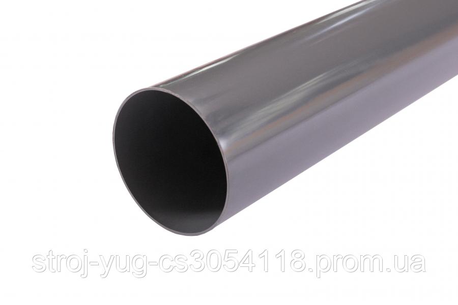 Труба водостічна Profil 75 графiтова 4м