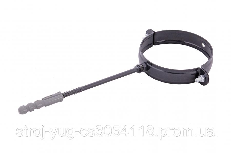 Держак труби Profil метал. L100 90 графітовий