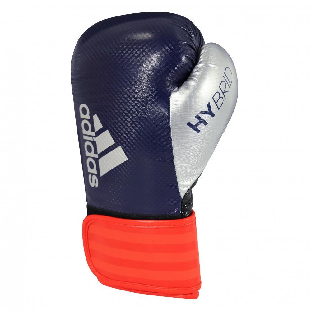 Боксерские перчатки Adidas Hybrid 65 Blue/Red/Silver, фото 1