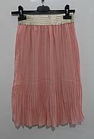Шифоновая юбка для девочек 8- 16 лет