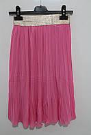 Шифоновая юбка для девочек 8 лет