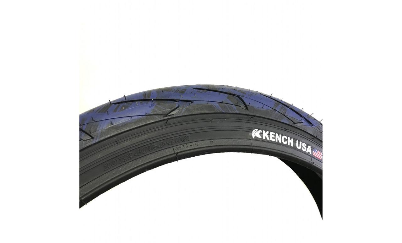 BMX покрышка Kench USA Captan-America 20x2.4 110psi (KH-TR-04-CBL)