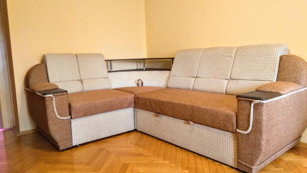 """Кутовий диван  """"Меркурій"""" від Мебель Сервіс (тканина Корфу)"""