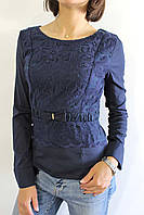 Рубашка женская  42-44  синяя