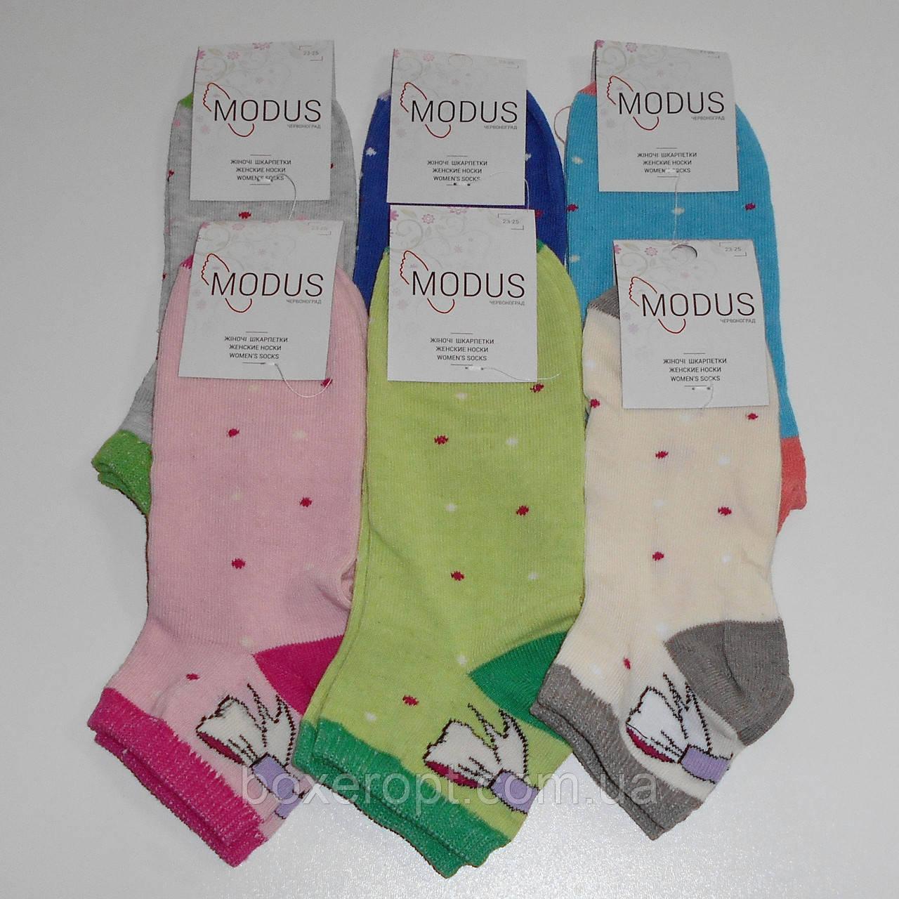 Женские носки Modus - 6.00 грн./пара (короткие, бантик)