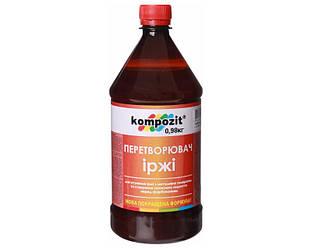 Преобразователь ржавчины фосфатирующий KOMPOZIT для ржавого металла 0,98кг