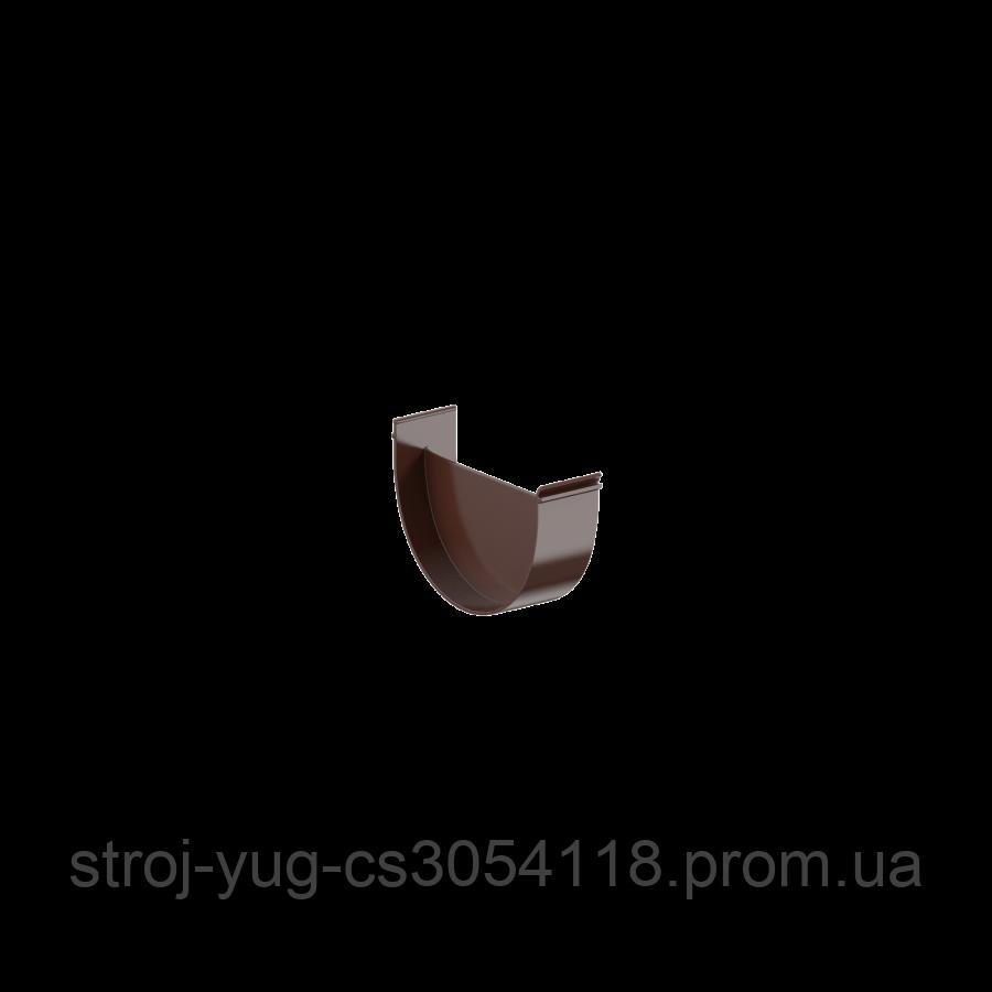 Заглушка лійки Fitt 125 коричневий
