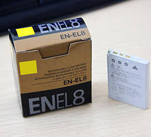 Dilux - Nikon EN-EL8 3.7V 730mah Li-ion  аккумуляторная батарея к фотокамере
