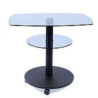 Стол журнальный стеклянный прямоугольный Commus Light425 P blu-venge-bl60