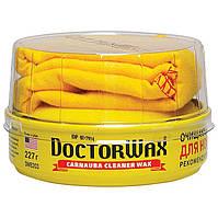 """Пастообразная очищающая полироль-защита с воском Doctor Wax DW8203 """"Карнауба"""" для новых покрытий 227 мл"""