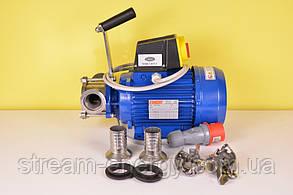 Импеллерный насос T40 - 5.3 м3/ч, 380В (для меда, мезги, жидкого теста)