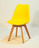 Стілець Milan, жовтий, фото 6
