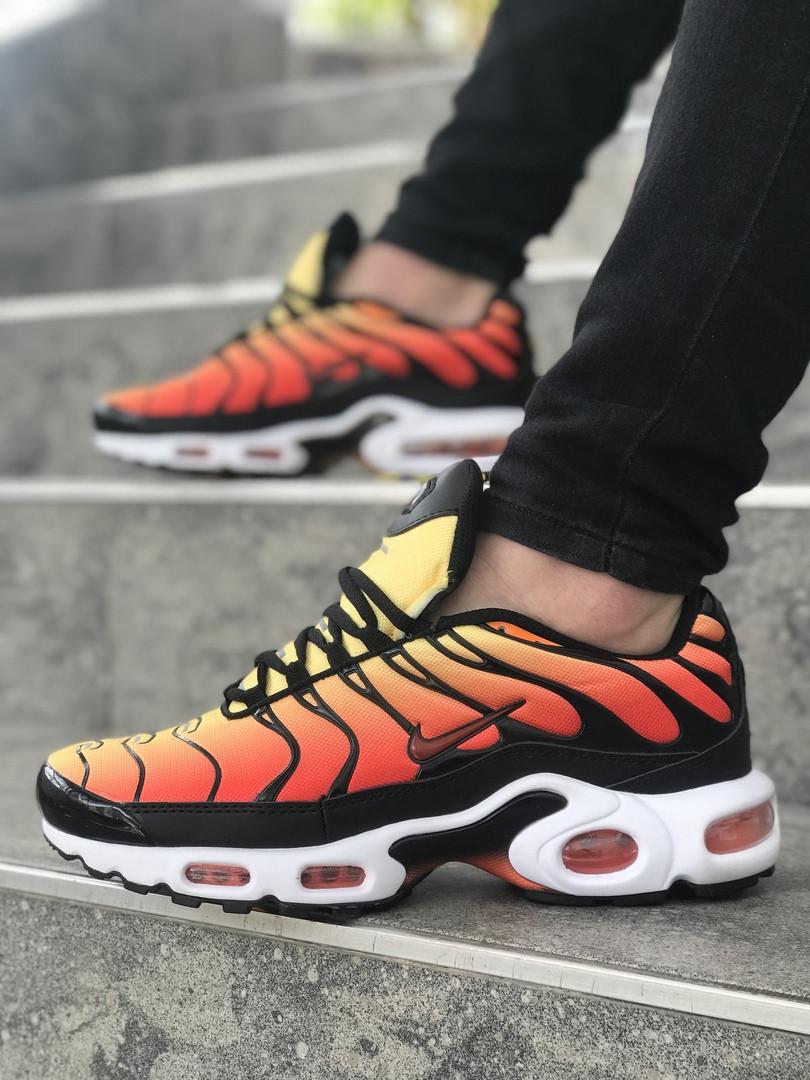 air max plus schwarz and orange