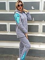 Теплые Спортивно-прогулочный костюм для мамы и дочки Family Look Фэмили Лук