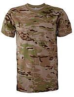 """Камуфляжные футболки """"Мультикам"""" """"Multicam"""" коричневый"""