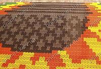 """Модульное напольное покрытие """"Прималаст-14"""" для ковров с логотипом, рисунком"""