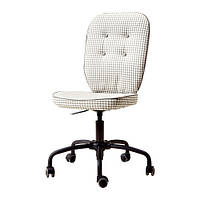 LILLHÖJDEN   Рабочий стул, Согмюра серый Идему серый с орнаментом с рисунком