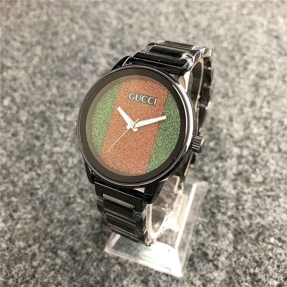 Наручные женские часы Gucci 6854 Black