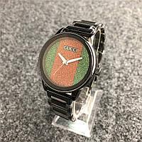 Наручные женские часы Gucci 6854 Black, фото 1